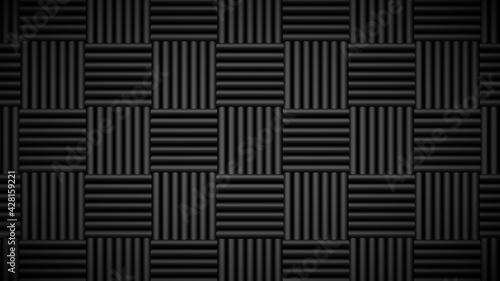 Obraz na plátně Acoustic foam tiles