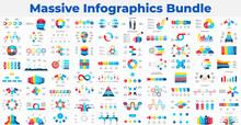 Massive Infographics Template Bundle. Various Elements For Your Presentation