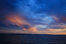 Summer Sunset Lake, Nature, Beautiful Sky