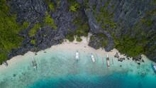 Aerial View From Star Beach - Tapiutan Island - Phillipines