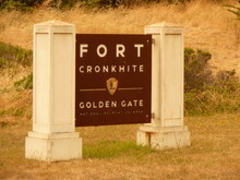 Fort Cronkhite Is One Of The Components Of California's Golden Gate NRA. Today Part Of The National Park Service, Fort Cronkhite Is A Former US Army Post.