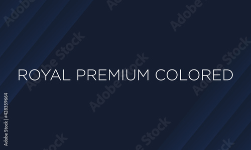 Cuadros en Lienzo blue royal dark premium background