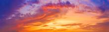 Sunset Sky Pattern