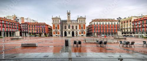 Obraz na plátně Valladolid ciudad histórica y monumental de la vieja Europa