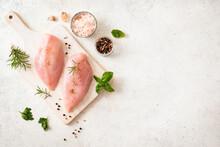 Raw Chicken Breast Fillet