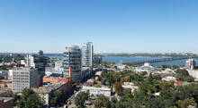 Dnipro City On Dnipro River, Ukraine, 9 July 2019