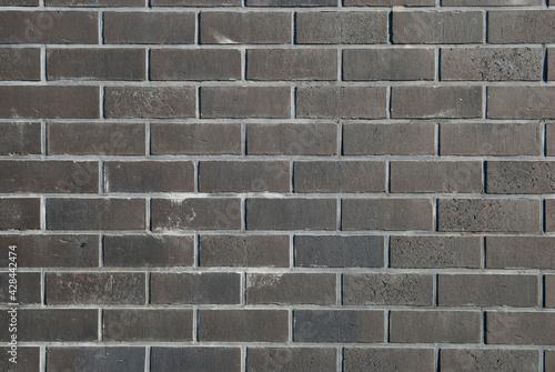 Elewacja czarne cegły
