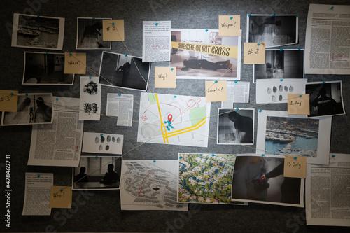 Foto Police Investigation Board
