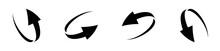 Loop Circle Arrow Icon Set