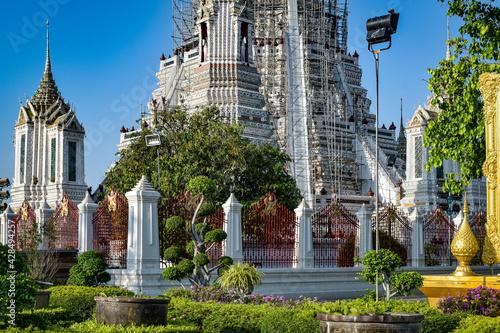 Canvas Print バンコク、暁の寺、ワット・アルンチャワラーラーム