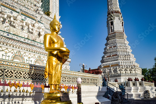 Foto バンコク、暁の寺、ワット・アルンチャワラーラーム