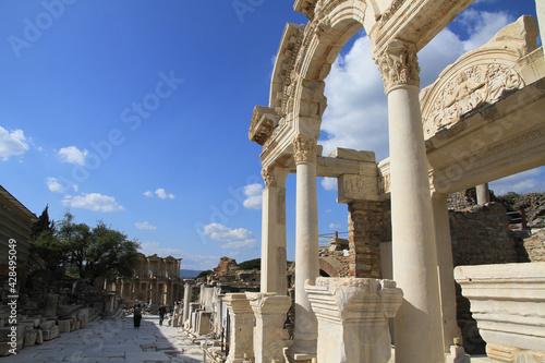 Fototapeta Temple of Hadrian , Ephesus
