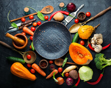 Raw Organic Vegetables