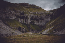 Gordale Scar In Malham, Yorkshire