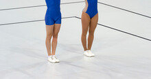Aerobic Gymnastics. Mixed Pairs Competitions Concept