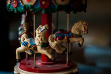 Carousel Horse On A Carousel