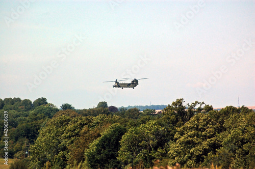 Fotografie, Obraz Chinook helicopter