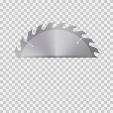 Circular Saw Blade For Wood. Vector Illustration