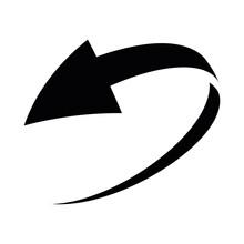 Simple Loop Circle Arrow Icon