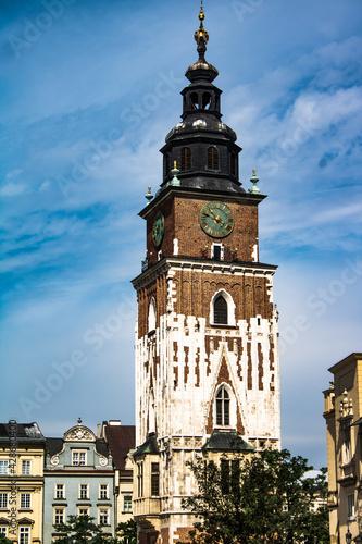 Fototapeta Wieża ratuszowa obraz