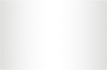 Halftone dotted background. Board with black grid on a white background.