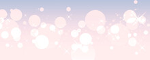 ピンクと紫のグラデーション きらきら背景 パーティクル