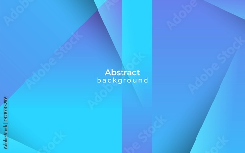 blue gradient background stripe light and shadow color Fotobehang