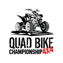 Quad Bike Championship 4x4 Illustration Vector