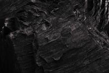 Black Coal Texture / Close Up