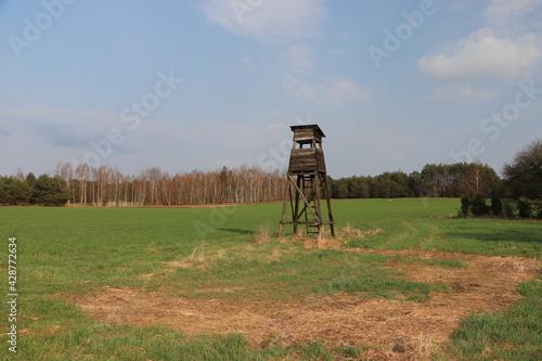 Fototapeta Nadbużański Park Krajobrazowy - wieża obserwacyjna obraz
