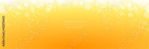 Stampa su Tela Sparkling background design