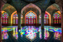 The Nasir Al-Mulk Mosque,(nasir Ol Molk Mosque) Also Known As The Pink Mosque Is A Traditional Mosque In Shiraz, Iran.