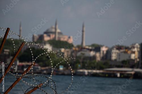 Hagia Sophia,  the world famous monument Fototapet
