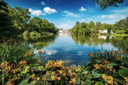 Fototapeta Lazienki Park in Warsaw obraz