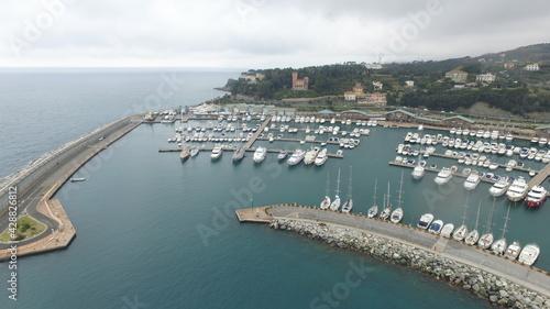 Fotografie, Obraz Porto di Varazze - Liguria - Italy