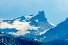 Rocky Mountains. Coastal Mountains. Mount Thompson In Alberta, Banff. Canada.