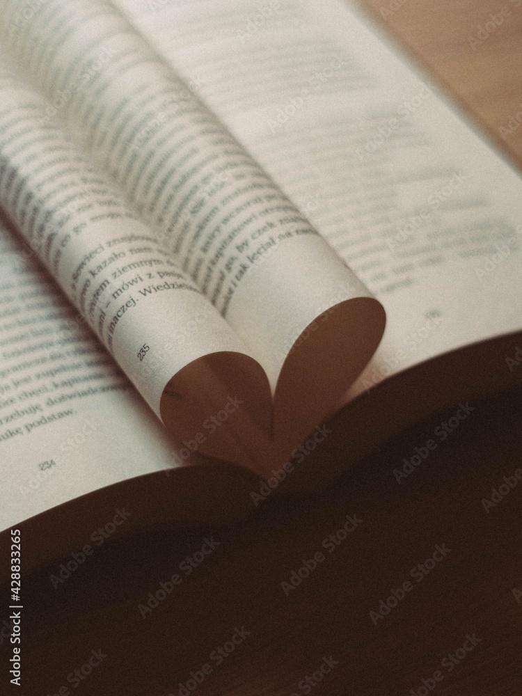 Fototapeta book