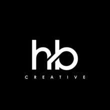 HB Letter Initial Logo Design Template Vector Illustration