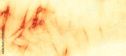 Fotografia Aged Tie Dye Wash. Dyed Spiral Light Pattern.