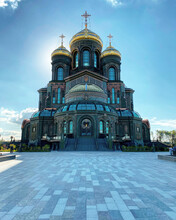 The Main Temple Of The Armed Forces Of The Russian Federation