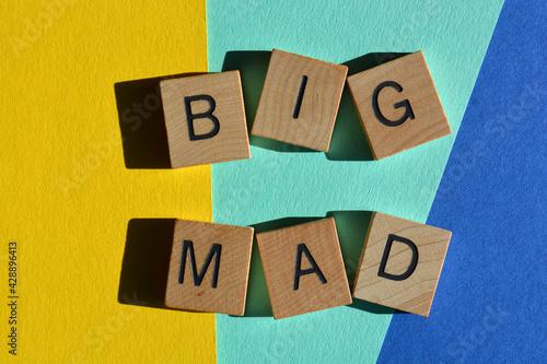 Slika na platnu Big Mad, phrase