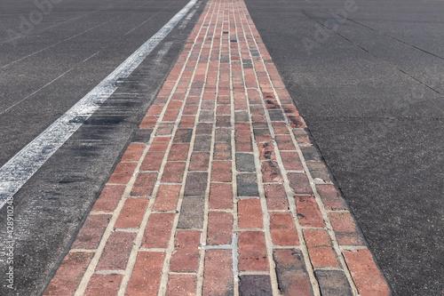 Canvas-taulu The Yard of Bricks at Indianapolis Motor Speedway
