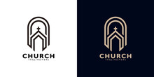 Church Logo Icon Vector Isolated