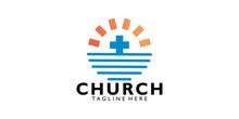 Church Logo Icon Vector Isolated