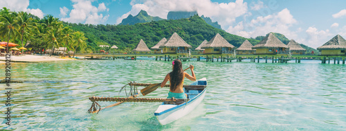 Fotografia Bora Bora travel vacation iconic photo