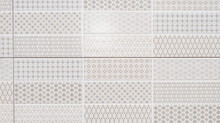 Tile Grey White To Light Gray Brown Floral Azulejo Patchwork Mosaic For Clear Background