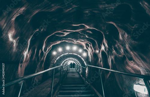 Fotografia Salt mine corridor