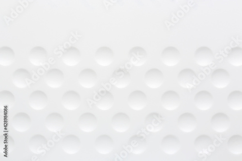 white background with circles - fototapety na wymiar
