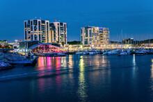 Marina Is A Harbor In Herzliya, Israel