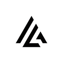 A I L G Al Ag Ig Initial Logo Design Vector Symbol Graphic Idea Creative